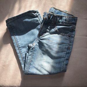 Sonoma light wash bootcut blue jeans size 4 boys